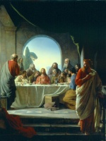 Carl Heinrich Bloch - paintings - The Last Supper