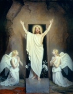 Carl Heinrich Bloch - paintings - The Resurrection