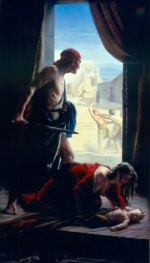 Carl Heinrich Bloch - paintings - The Slaughter of the Innocents
