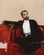 Giovanni Boldini - paintings - A Portrait of John Singer Sargent