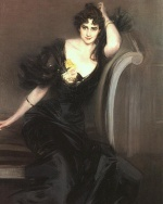 Giovanni Boldini - paintings - Lady Colin Campbell