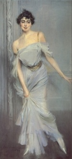 Giovanni Boldini - paintings - Madame Charles Max