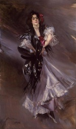 Giovanni Boldini - paintings - Portrait of Anita de la Ferie (The Spanish Dancer)