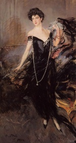 Giovanni Boldini - paintings - Portrait of Donna Franca Florio