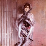Giovanni Boldini - paintings - Portrait of Emiliana Concha de Ossa