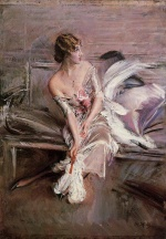 Giovanni Boldini - paintings - Portrait of Gladys Deacon