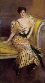 Giovanni Boldini - paintings - Portrait of Madame Josephina Alvear de Errazuriz