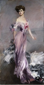 Giovanni Boldini - paintings - Portrait of Mrs. Howard Johnston