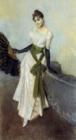 Giovanni Boldini - paintings - Portrait of Signorina Concha de Ossa