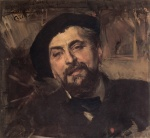 Giovanni Boldini - paintings - Portrait of the Artist Ernest Ange Duez