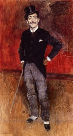 Giovanni Boldini - paintings - Portrait of the Comte de Rasty