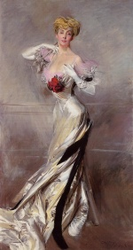 Giovanni Boldini - paintings - Portrait of the Countess Zichy
