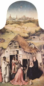 Hieronymus Bosch - paintings - Adoration of the Magi