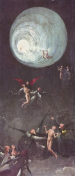 Hieronymus Bosch - paintings - Paradise: Ascent of the Blessed