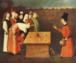 Hieronymus Bosch - paintings - The Magician