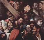 Hieronymus Bosch - paintings - Christ Carrying the Cross