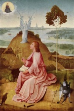 Hieronymus Bosch - paintings - St John on Patmos