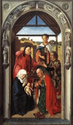 Dieric Bouts - paintings - Adoration of the Magi