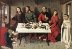 Dieric Bouts - paintings - Christ in the House of Simon