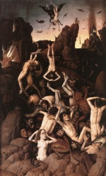 Dieric Bouts - paintings - Hell