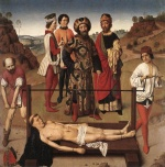 Dieric Bouts - paintings - Martyrdom of St. Erasmus (Central Panel)
