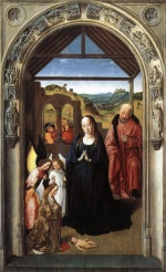 Dieric Bouts - paintings - Nativity