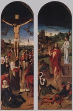Dieric Bouts - paintings - Passion Altarpiece (Side)