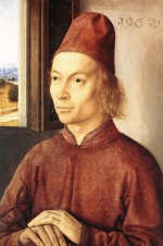 Dieric Bouts - paintings - Portrait of a Man