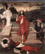 Dieric Bouts - paintings - Resurrection