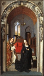 Dieric Bouts - paintings - The Annunciation