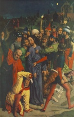 Dieric Bouts - paintings - The Capture of Christ