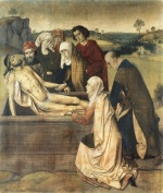 Dieric Bouts - paintings - The Entombment