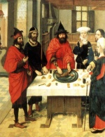 Dieric Bouts - paintings - The Feast of the Passover