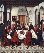 Dieric Bouts - paintings - The Last Supper