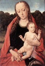 Dieric Bouts - paintings - The Virgin and Child