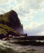 Alfred Thompson Bricher - paintings - Brundith Head Grand Manan