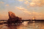 Alfred Thompson Bricher - paintings - By the Shore