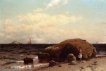 Alfred Thompson Bricher - Bilder Gemälde - Looking out to Sea