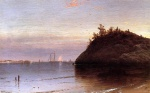 Alfred Thompson Bricher - Bilder Gemälde - Narragansett Bay