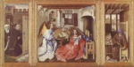 Robert Campin - paintings - Mérode Altarpiece