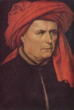 Robert Campin - paintings - Portrait of a Man