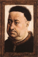 Robert Campin - paintings - Portrait of a Fat Man