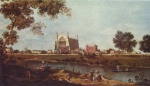 Canaletto - paintings - Eton College Chapel