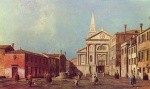 Canaletto - paintings - Il Campo e la Chiesa di San Francesco dell Vigna