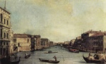 Canaletto - paintings - Il Canal Grande