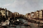 Canaletto - Peintures - Il Canal Grande