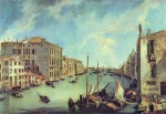 Canaletto - paintings - Il Canale Grande a San Vio