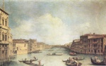 Canaletto - paintings - Il Canale Grande
