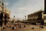 Canaletto - paintings - The Piazzetta