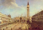 Canaletto - paintings - Piazza San Marco